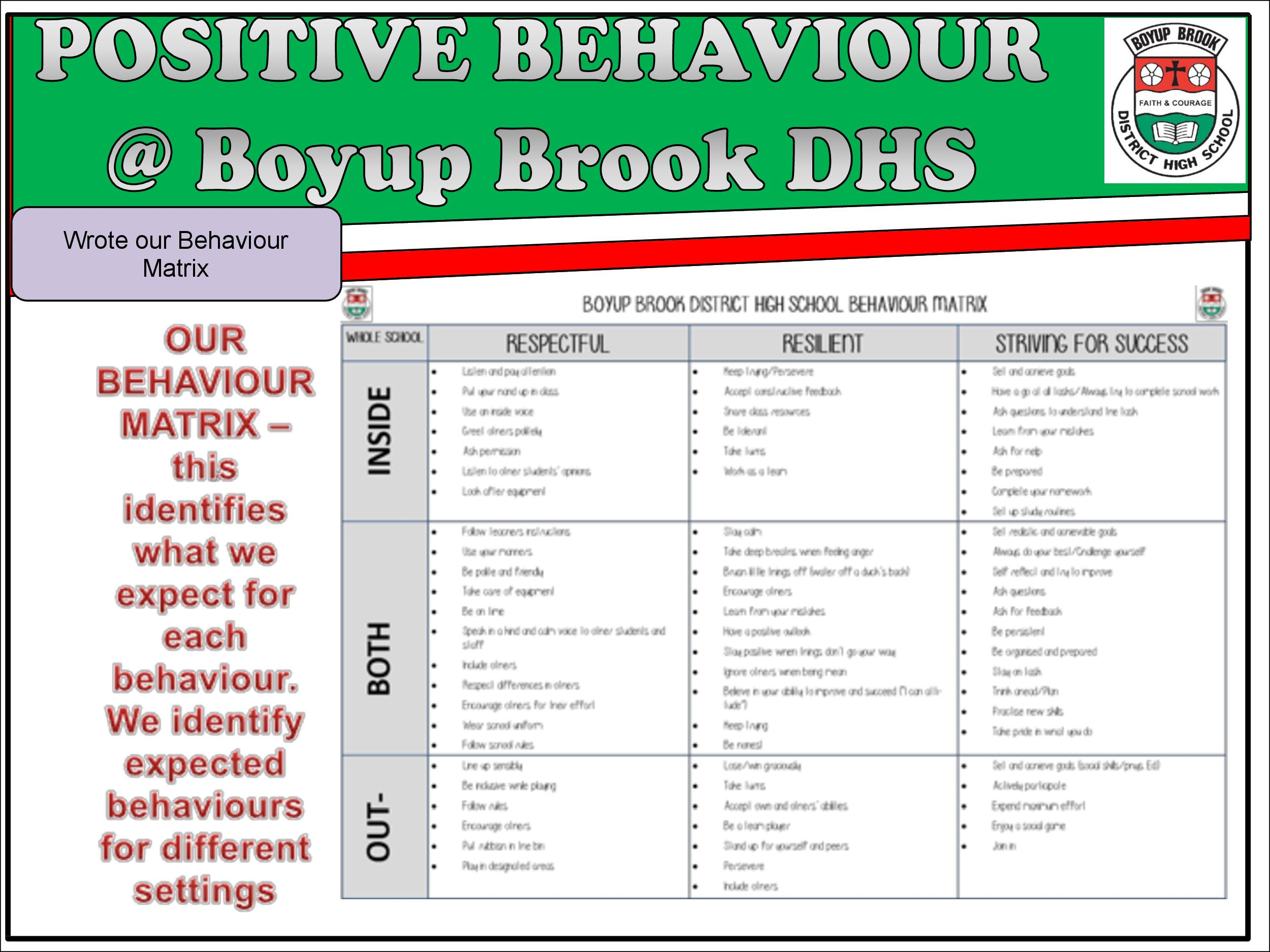 Positive Behaviour Support Page 12
