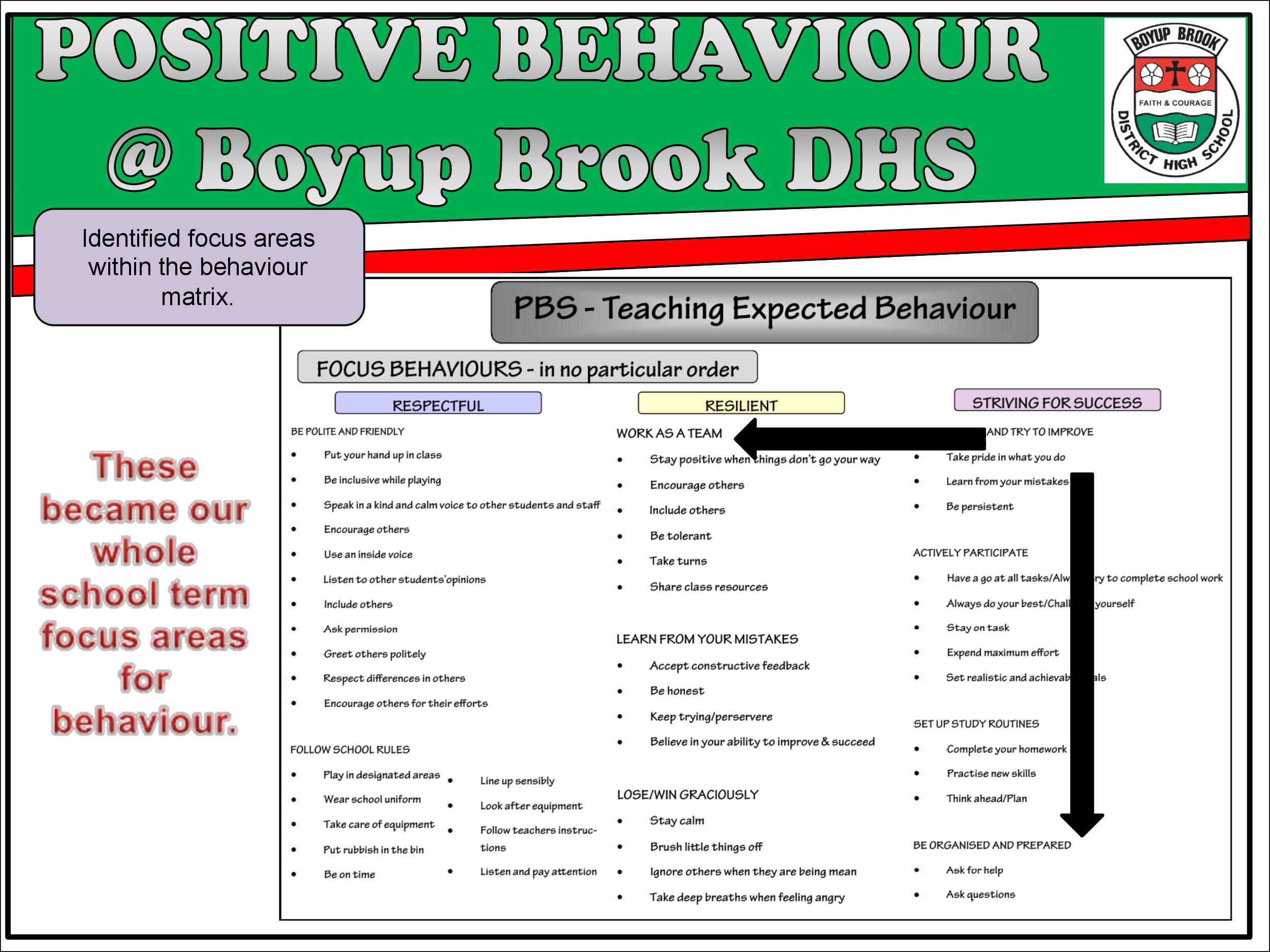 Positive Behaviour Support Page 16