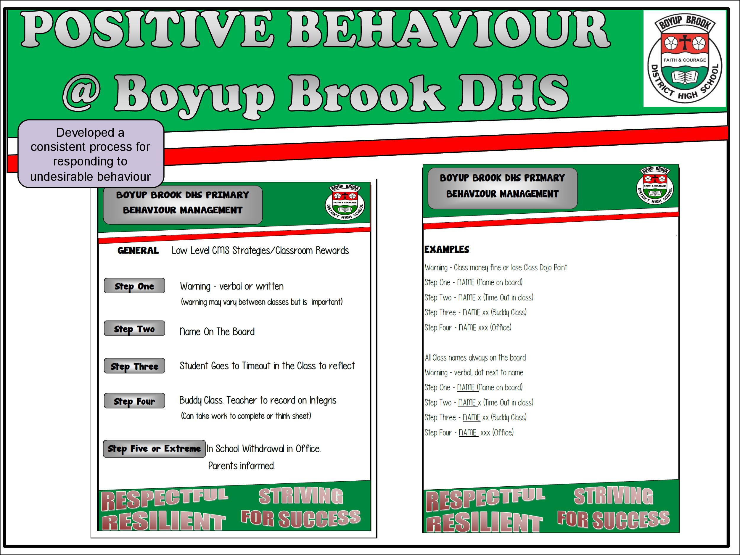 Positive Behaviour Support Page 19