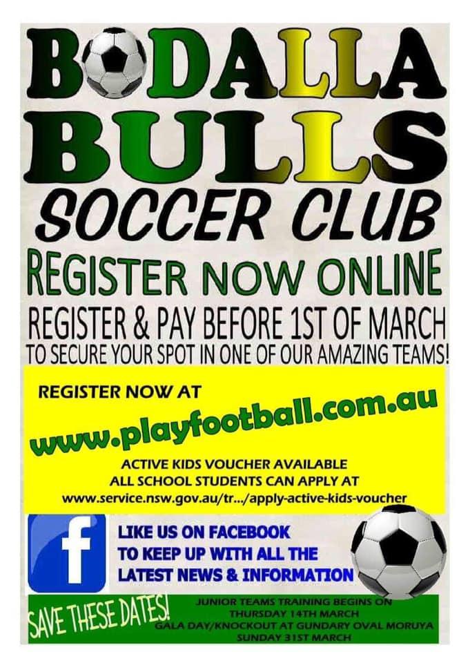 2019_Bodalla_Bulls_Soccer_Club_Rego_Flyer