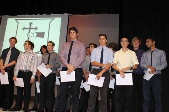 2012 Academic Awards Assembly