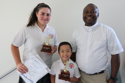 Catherine_McAuley_Award_winners_Montana_Dean_and_Alexander_Torio_with_Father_George_Small_.JPG