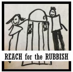 Reach for the Rubbish logo