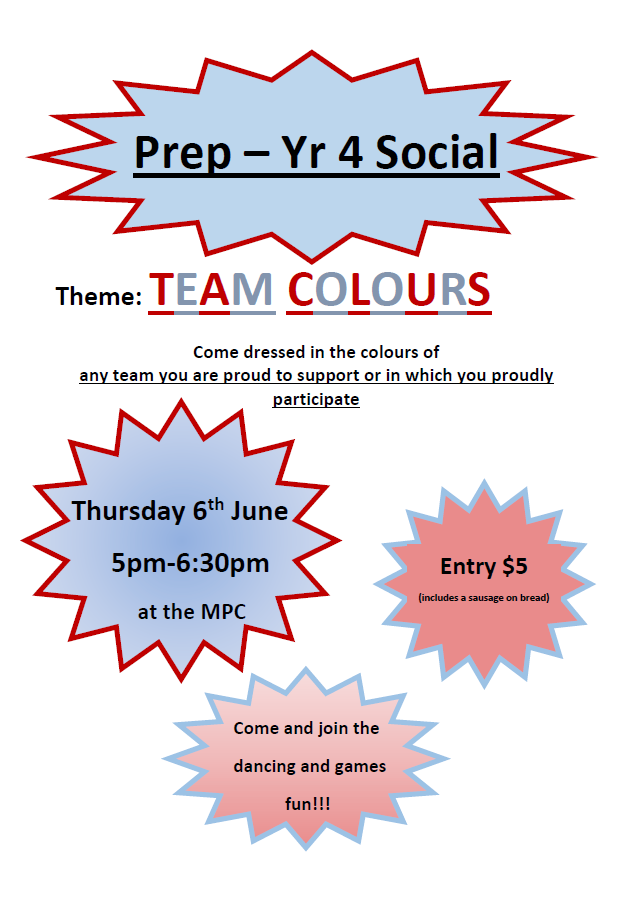Team Colours Social Flyer