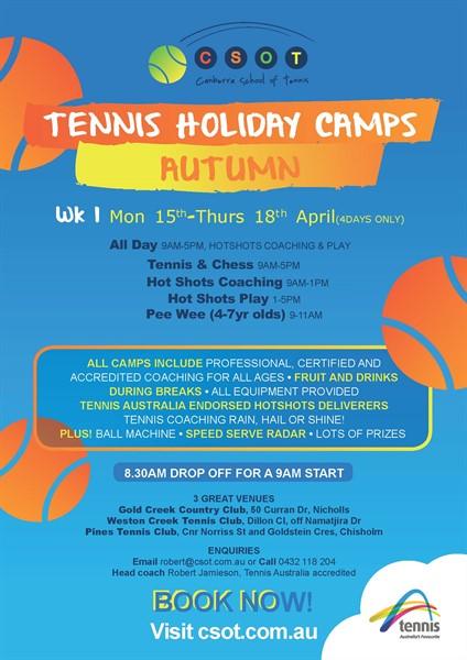 CSoT Autumn Camp 2019 Flyer