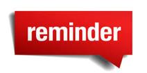 Reminder 2