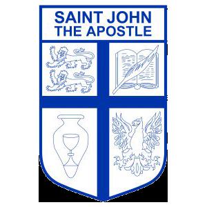 St John the Apostle Primary School - Florey Logo