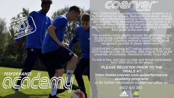 Coerver Coaching Performance Academy Trials 2018-19 Advert.jpg