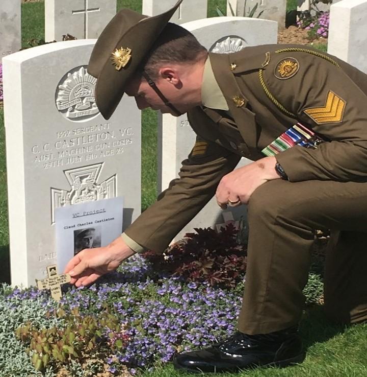 Castleton War Grave
