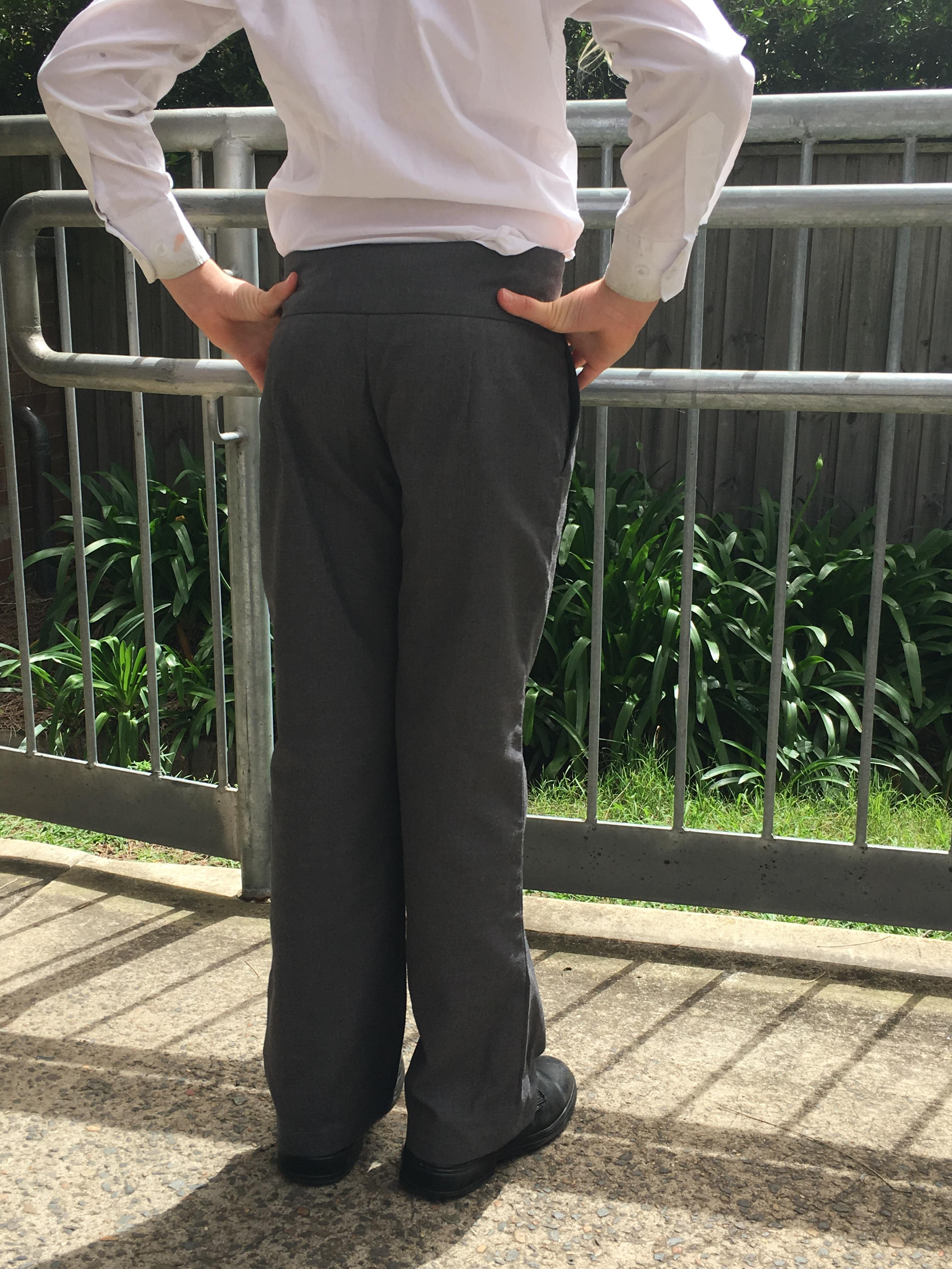 Girls Long Pants (Back View)